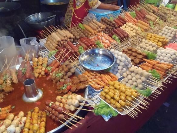 Food at the Koh Lanta Festival