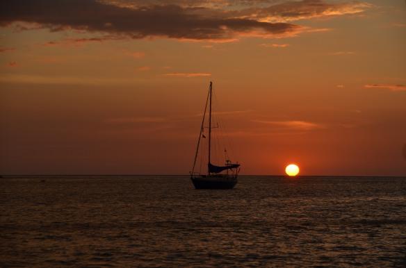 Sunset at Koh Rocha