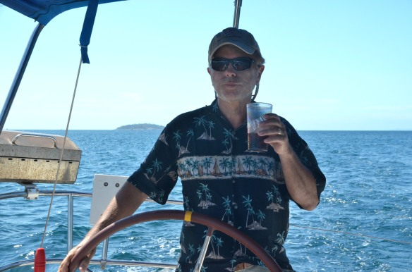 Larry at the Helm