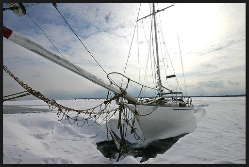 Winter Sailing XVI by James Patterson